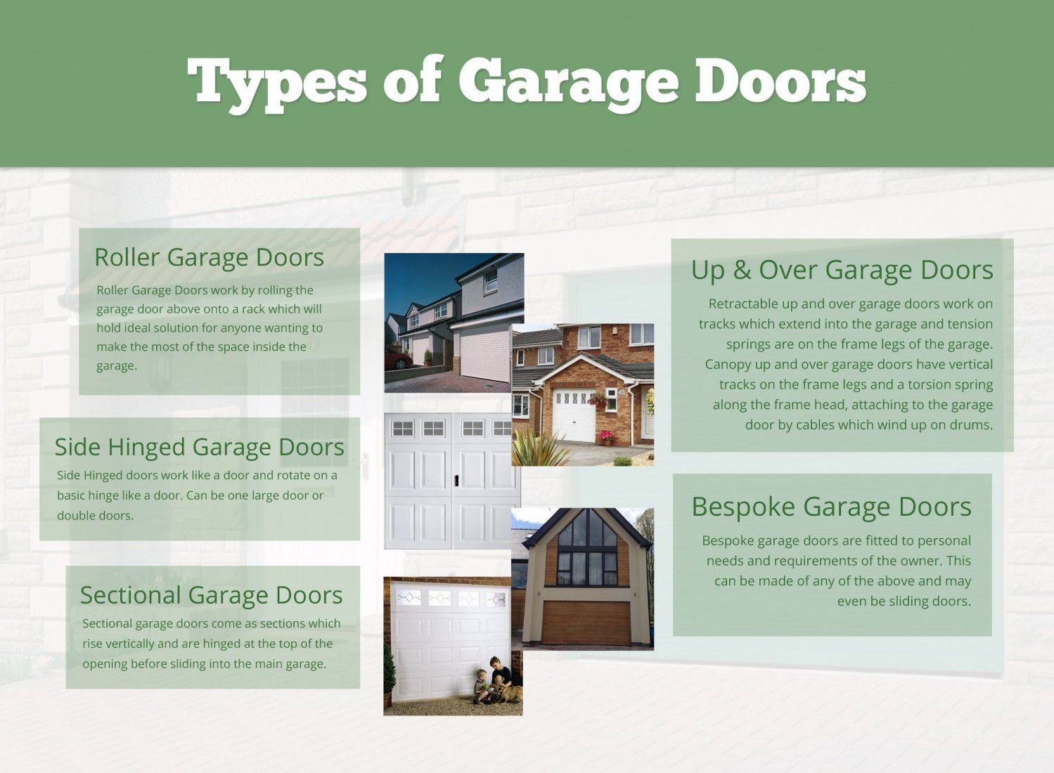 Here Are Few Popular Types Of Garagedoor Which One Do You Like To Install Similar One Call 1 714 878 5928