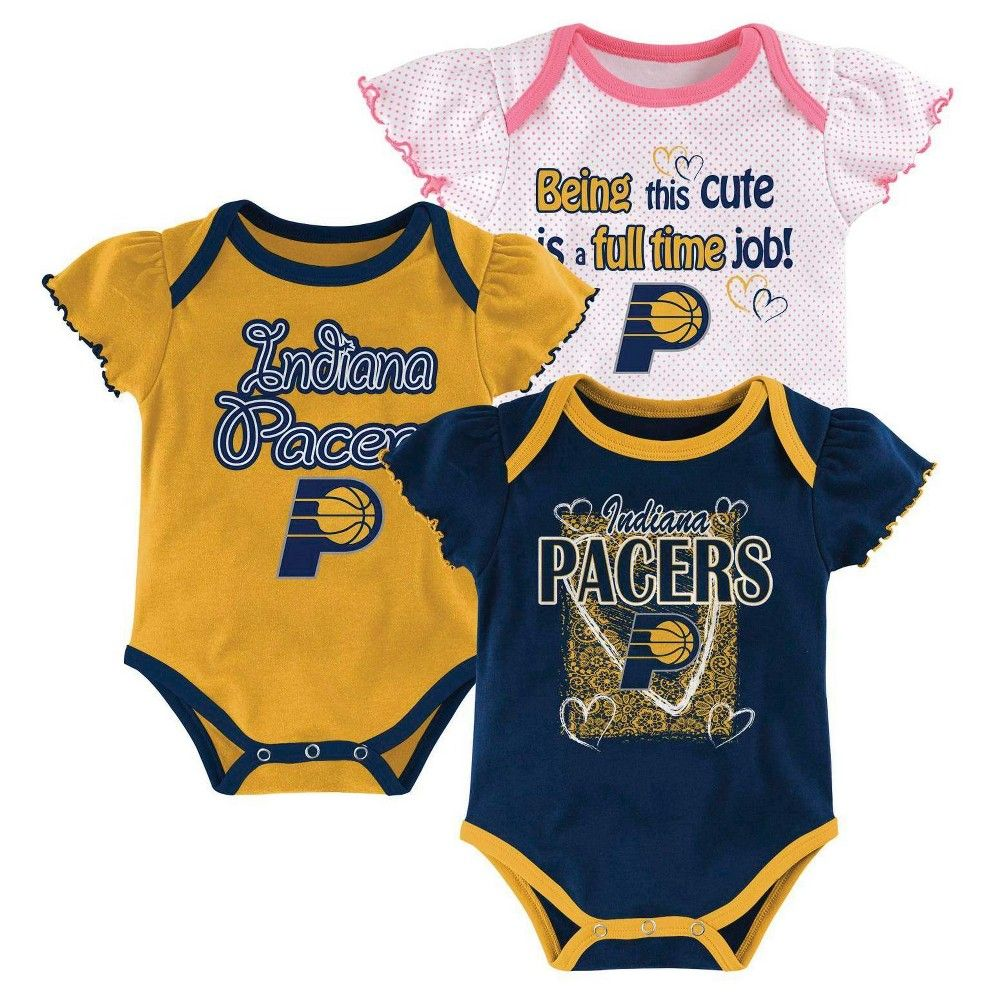 5728294fb Indiana Pacers Girls Infant Body Suit 12 M
