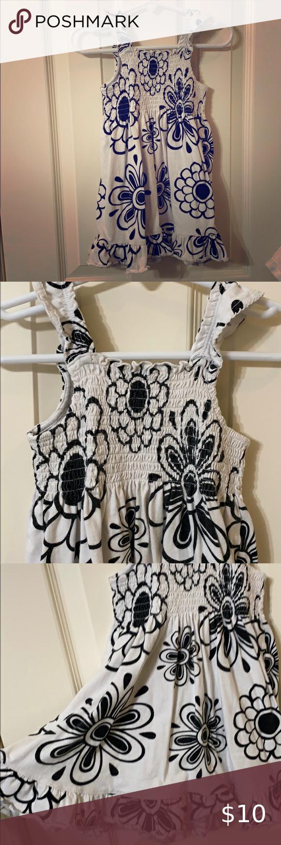 Toddler Seersucker Black And White Dress Cute Flower Print Black And White Dress With Ruffle Sleeves 2t B Black N White Dress Dresses Dress With Ruffle Sleeves [ 1740 x 580 Pixel ]