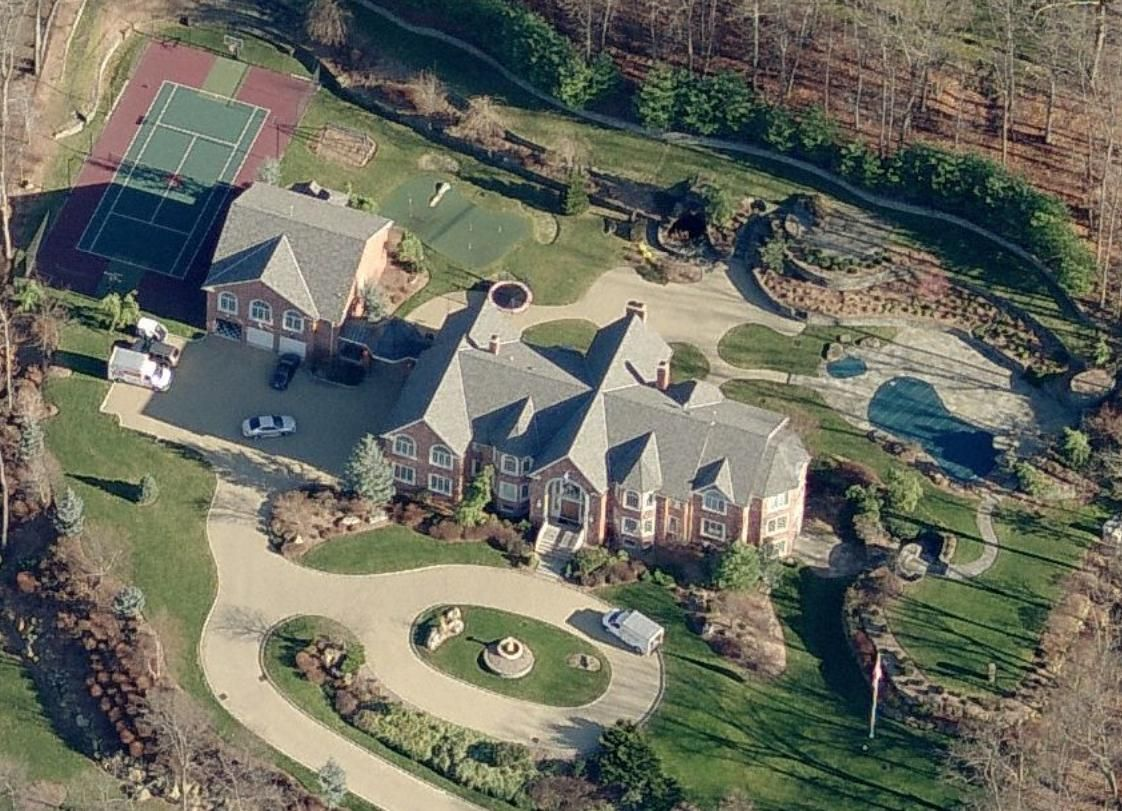 Celebrity Homes Sitting On Over Three Acres This Home Includes