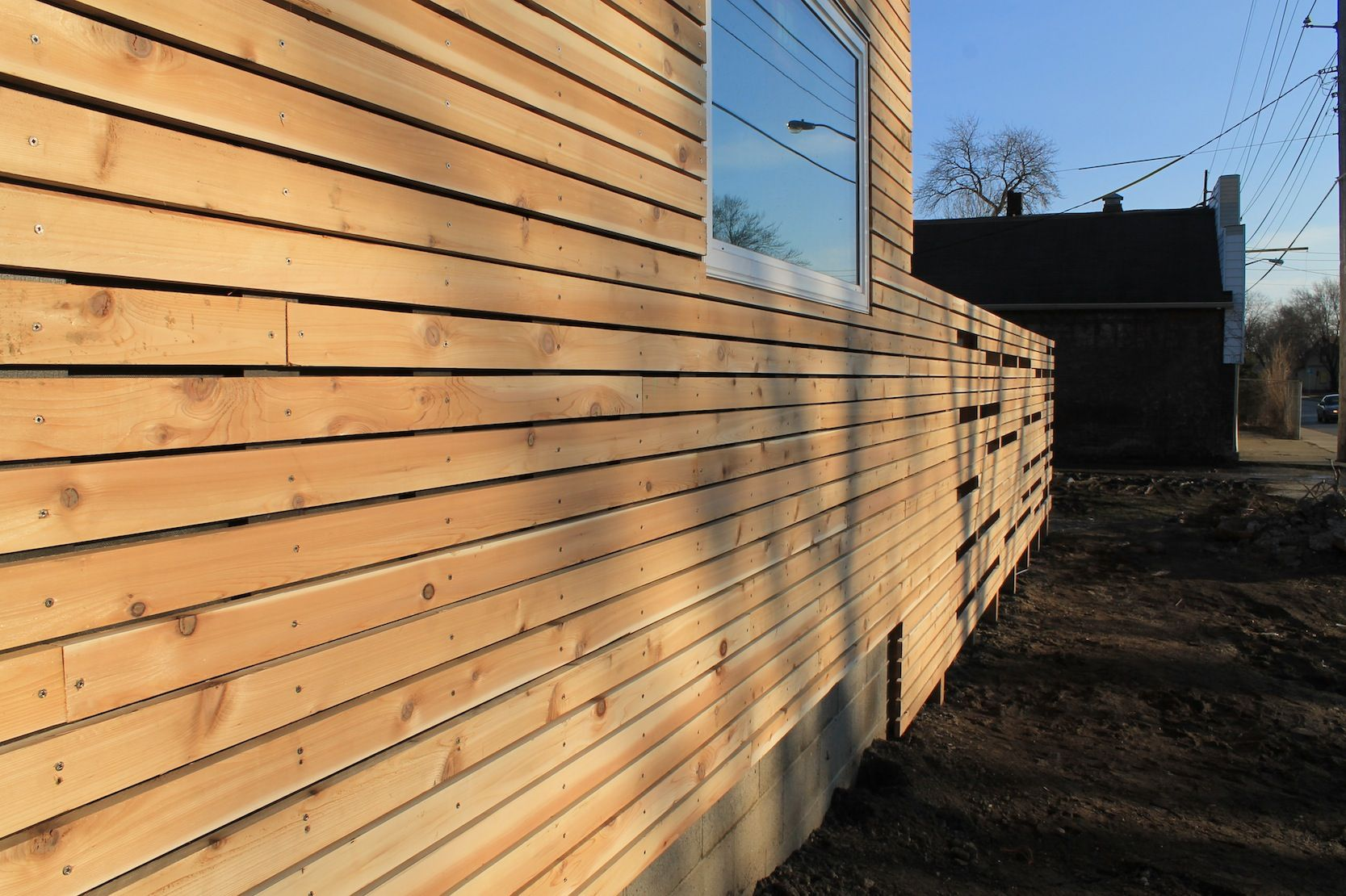 Cedar cladding rainscreen google search hudson for Horizontal cedar siding
