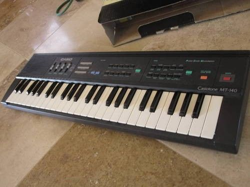 Casiotone MT-140 Portable Keyboard | Keyboards | Pinterest ...