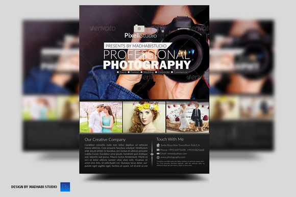 Photography Flyer Photography flyer and Flyer template - photography flyer