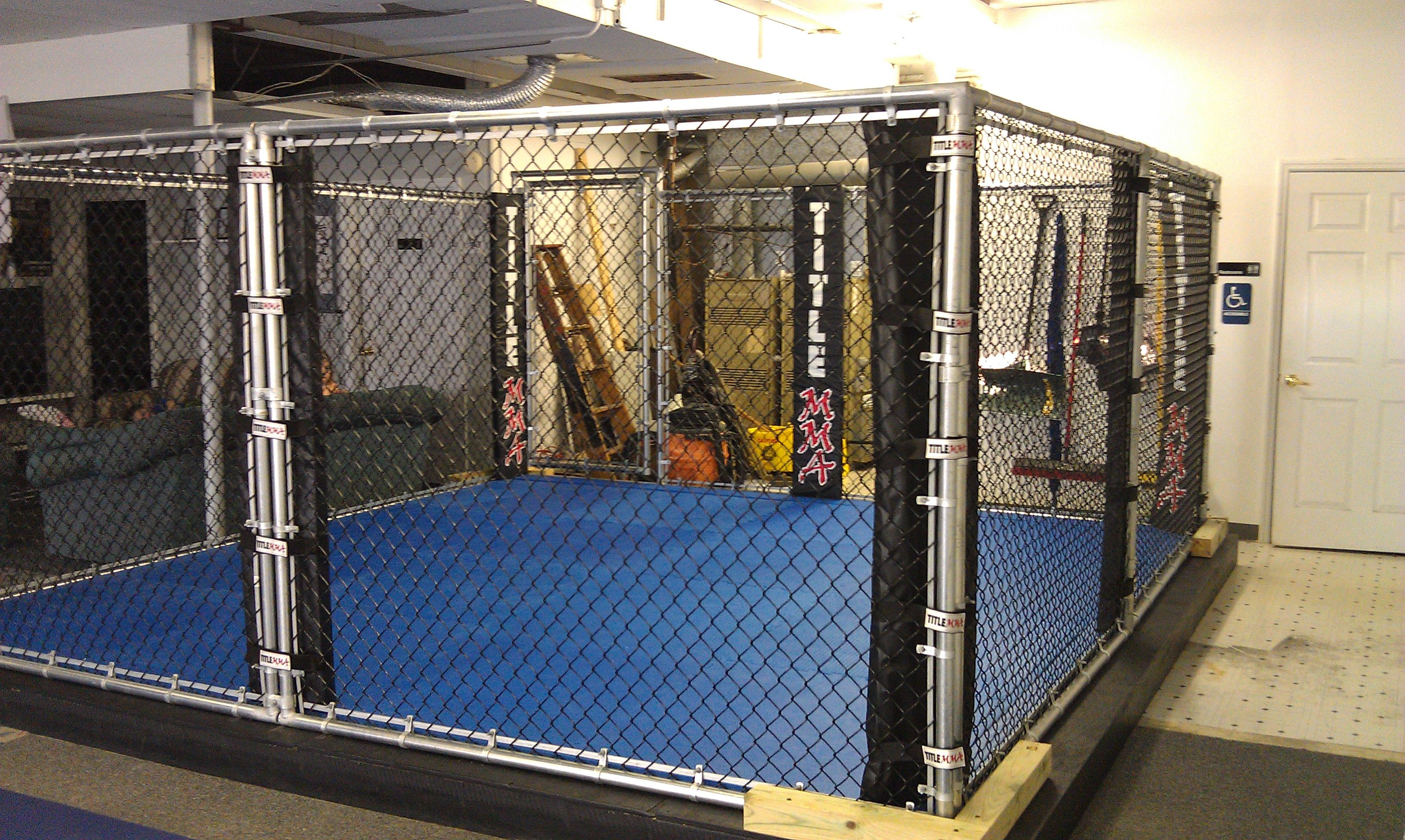 Bjj Lifestyle Academy Has A Brand New 15 15 Mma Cage Boxing Ring Bjj Mma Brazilian Jiu Jitsu
