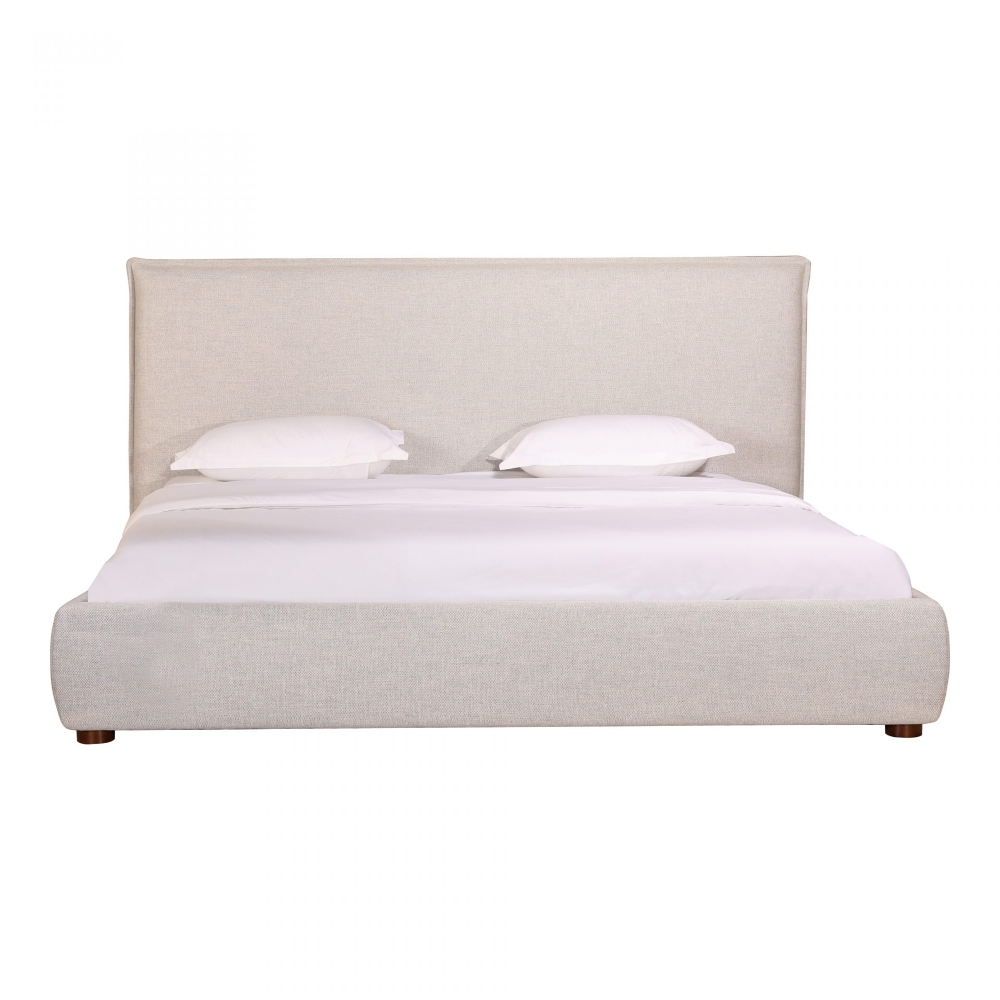 Luzon Queen Bed Light Grey Products Moe S Wholesale King