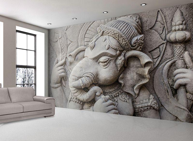 Bliss and Spiritual Wallskin Mural art, Buddha decor