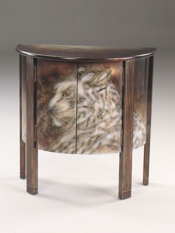 CABINET, SNOWLEOPARD, 91X51X91H - Marco Polo - Antiques online -