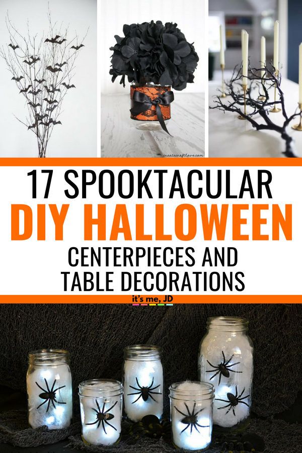 17 Diy Halloween Centerpieces And Table Decorations That Look