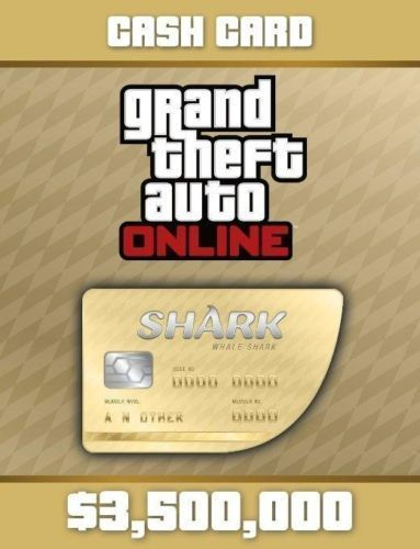 Grand Theft Auto V Online GTA PS4 Great White Shark Cash Card $3500000 https://t.co/ed2ZzciHGv https://t.co/RbuI1QWgPz