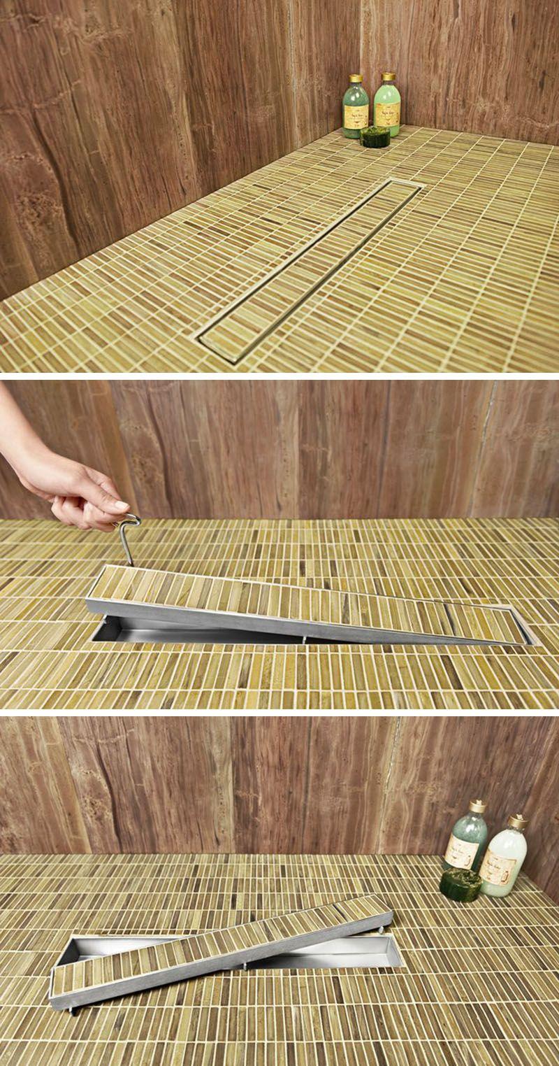 Bathroom Design Idea - Include A Linear Shower Drain - Badkamer ...