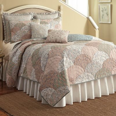 Nostalgia Home™ French Chain Quilt - BedBathandBeyond.com