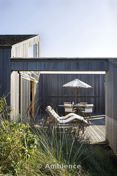 Looking into the courtyard from the dune outside ... on Dune Outdoor Living  id=92462