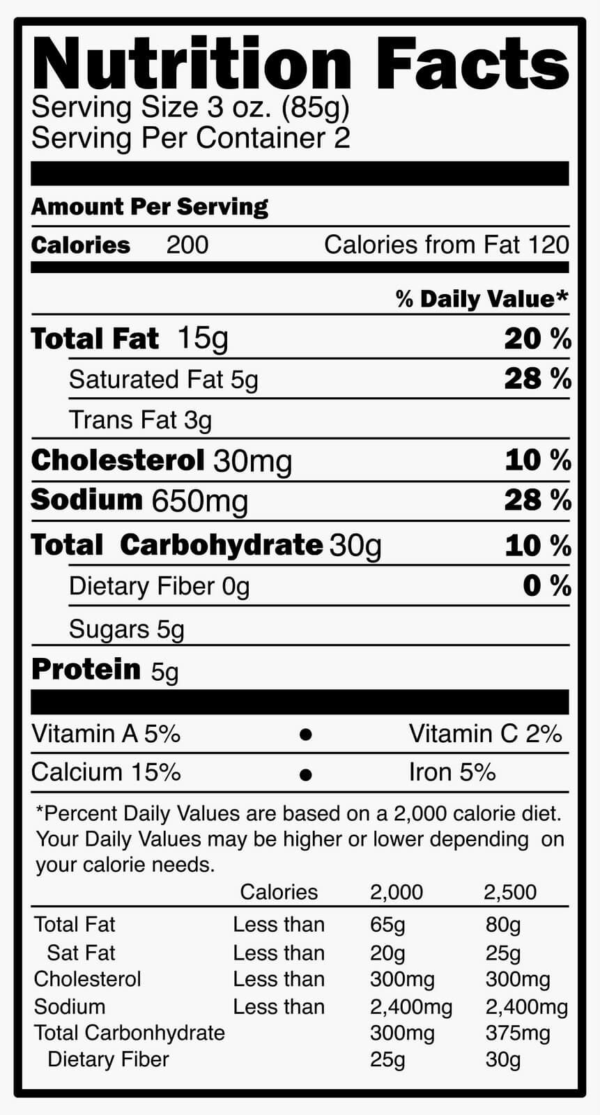 Reading Food Packages and Nutrition Labels: Four Tips for Savvy Shopping