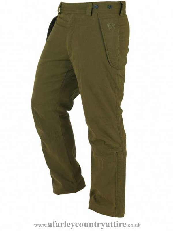 ef4be0f23b012 Alan Paine - Helmsley Gents Waterproof Trousers - Olive Green - Available  to buy online at