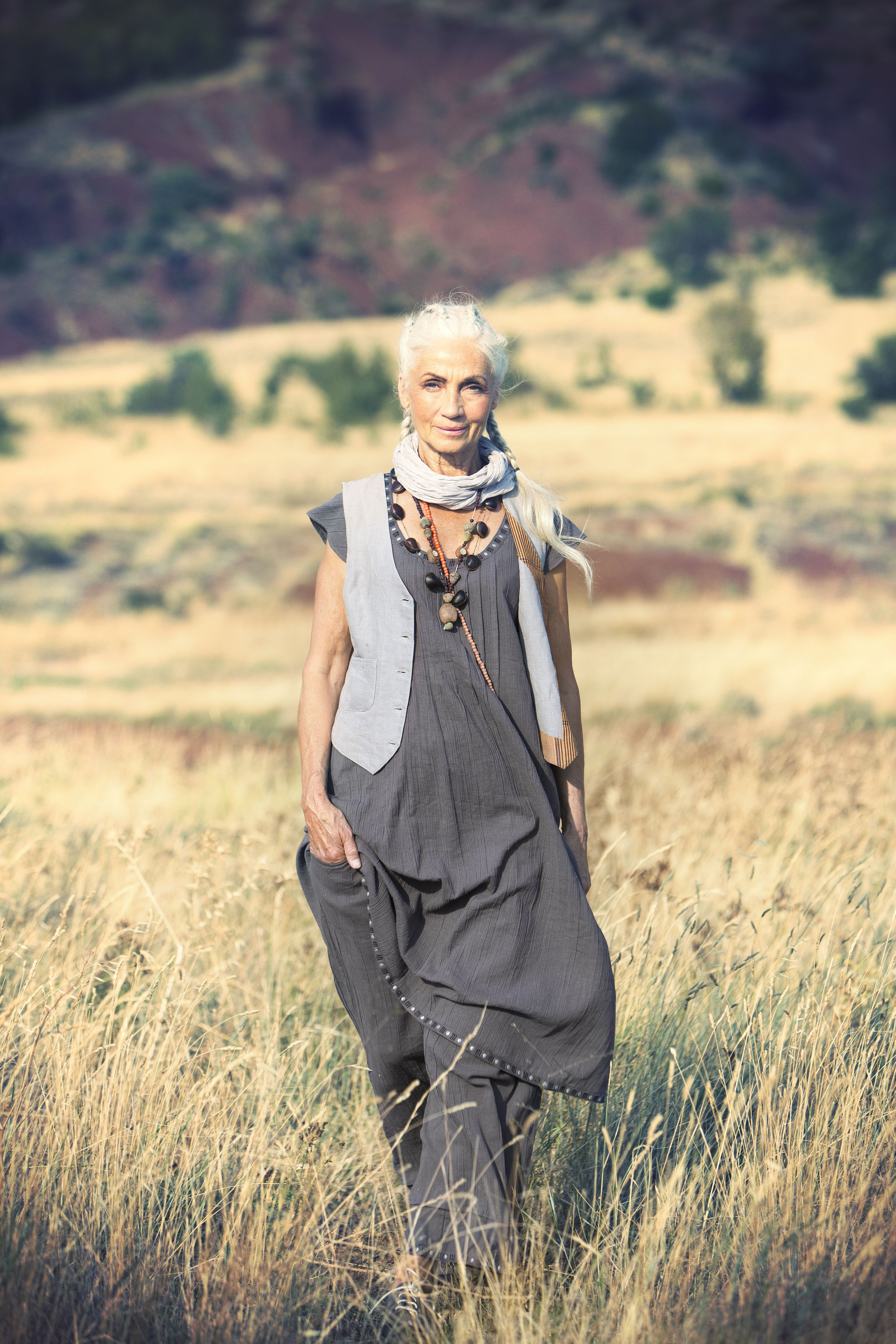Gudrun Sjoden...another great look