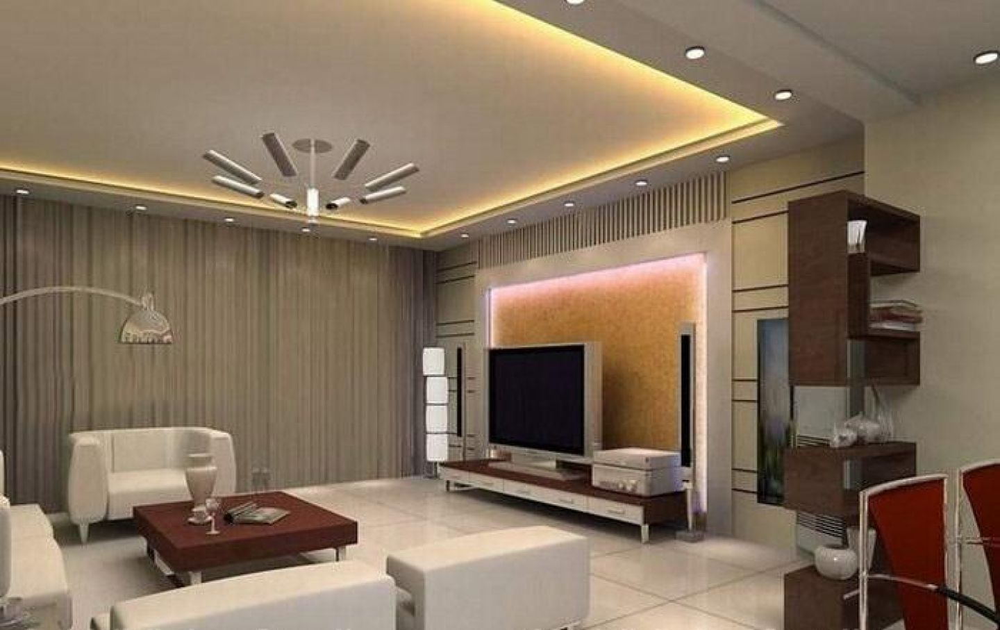 Interesting pop ceiling designs aida homes - Pop Ceiling Designs For Small Living Room House Decor