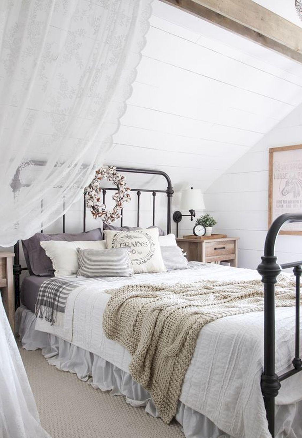 Gorgeous 70 Beautiful Farmhouse Master Bedroom Ideas