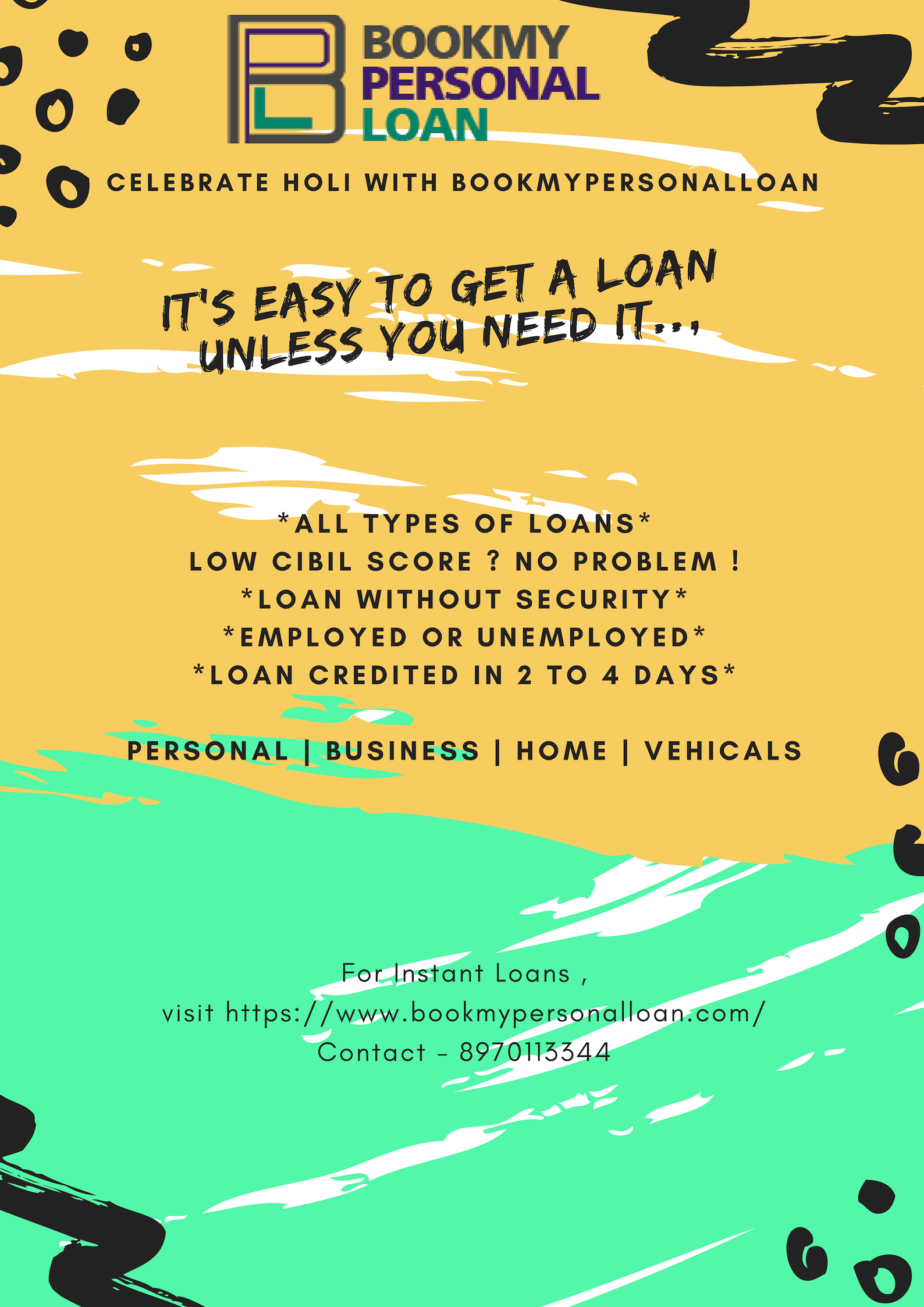 Instant Personal Loan For Low Cibil Score In Bangalore Bookmypersonalloan Personal Loans Mortage Loans Types Of Loans
