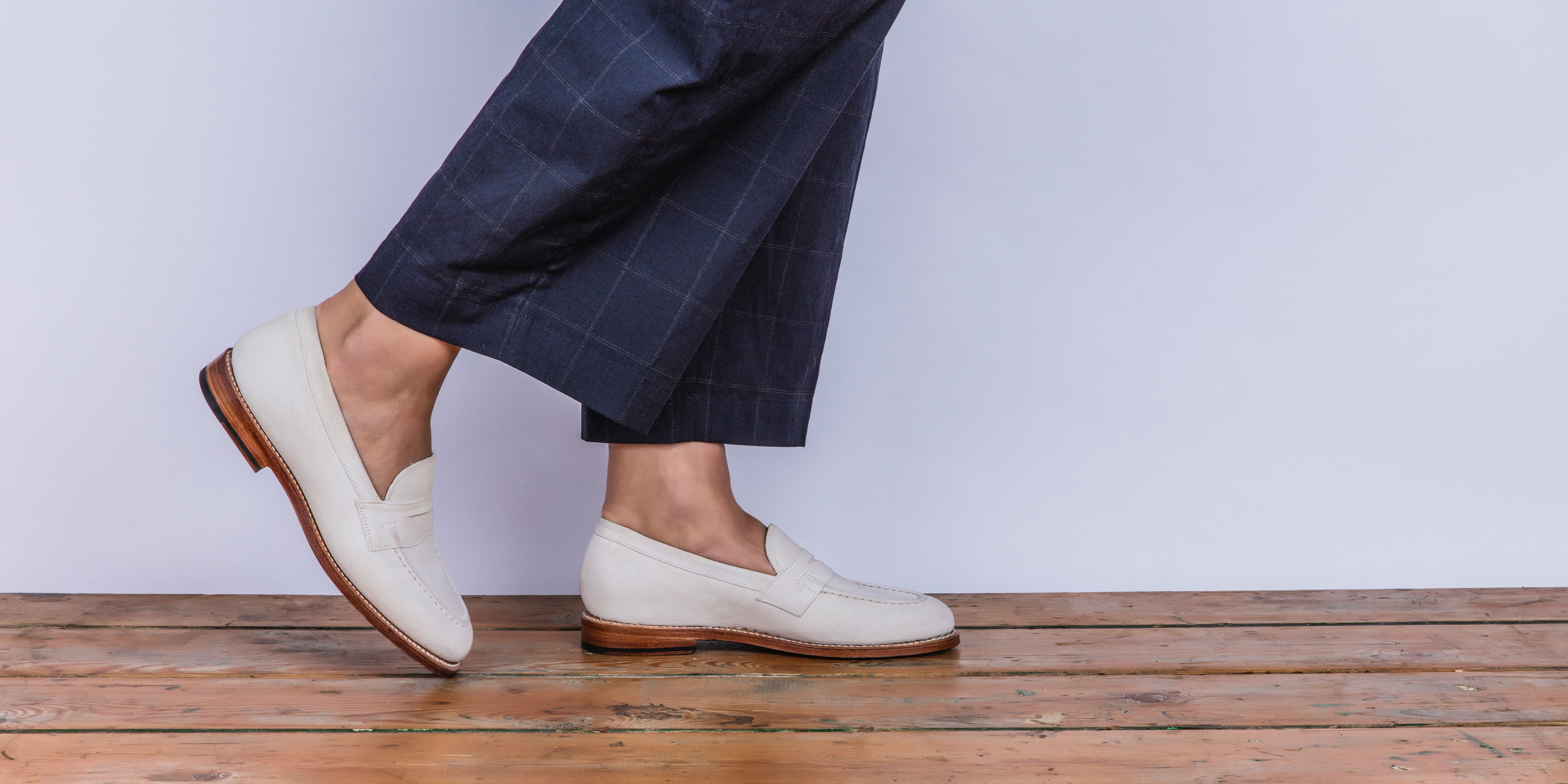 c1d9564651a Fleur in burnished white suede  grenson  girlsingrenson  grensongirls   womensbrogues  brogues