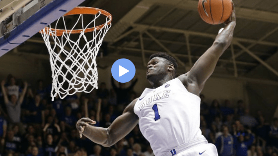 The Best Of Zion This Season Chris Inc. Ncaa