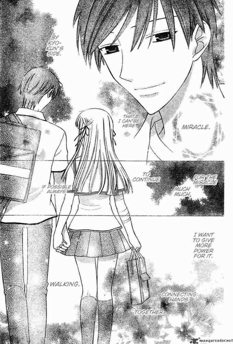 Kyo x Tohru in Fruit Basket manga