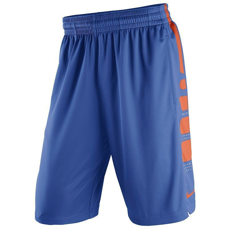 Men's Nike Florida Gators Elite Striped Basketball Shorts