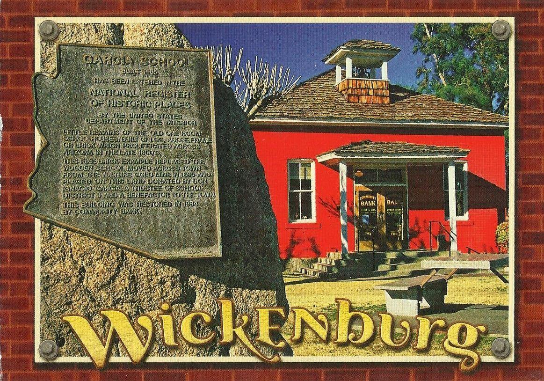 Little Red School House In Wickenburg