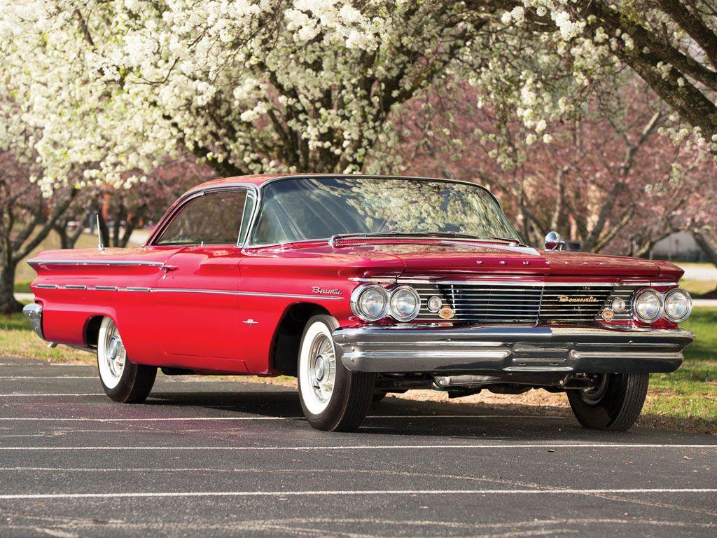 1960 Pontiac Bonneville Sport Coupe Pontiac bonneville