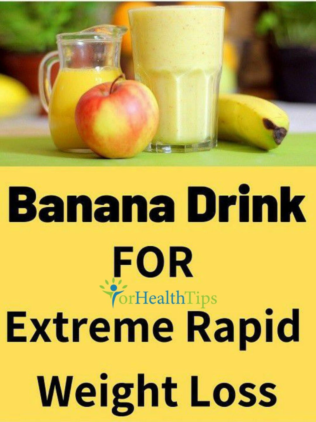 Banana Drink for Extreme rapid #Weightloss
