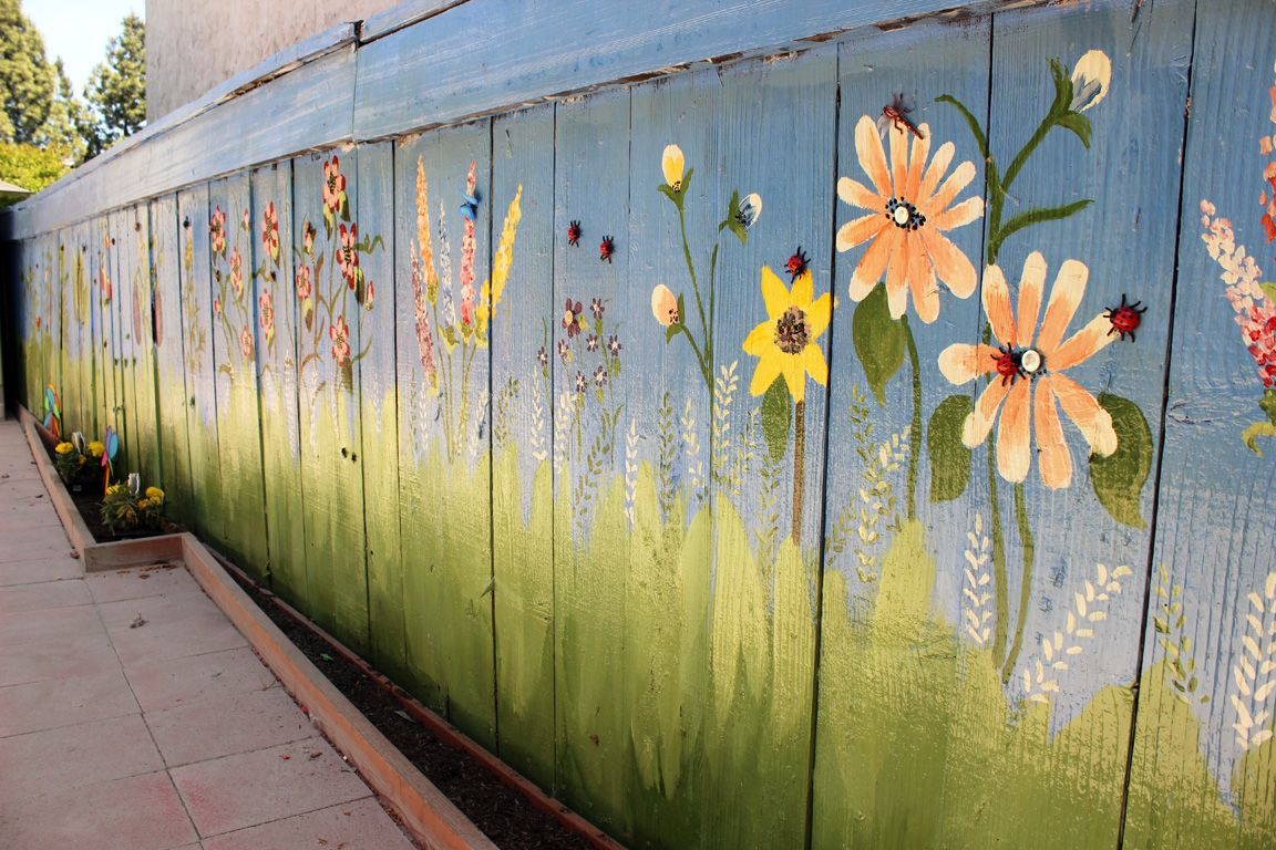 outdoor garden wall murals - Google Search | Outside | Pinterest