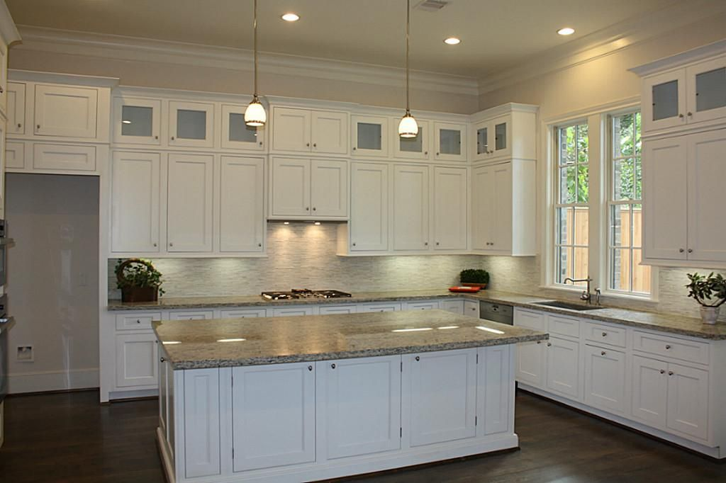 Double stack cabinet kitchen ideas pinterest for Double kitchen cabinets
