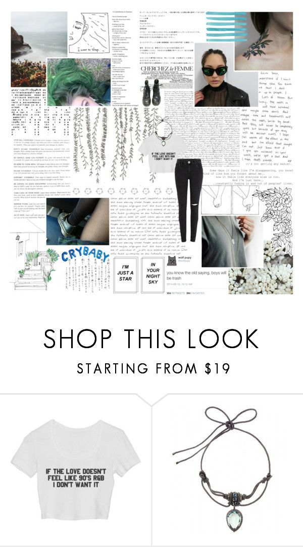 """it's clear you think that i'm inferior; whatever helps you sleep at night."" by morrigans ❤ liked on Polyvore featuring Lanvin and La Femme"