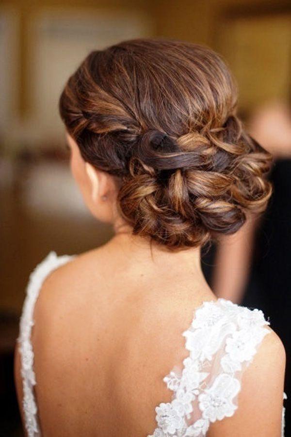 21 seriously gorgeous wedding hairstyles - Recogidos De Novia Bajos