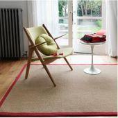 Photo of Rugs Handmade carpet Kershaw in linen white / redWayfair.de This i …