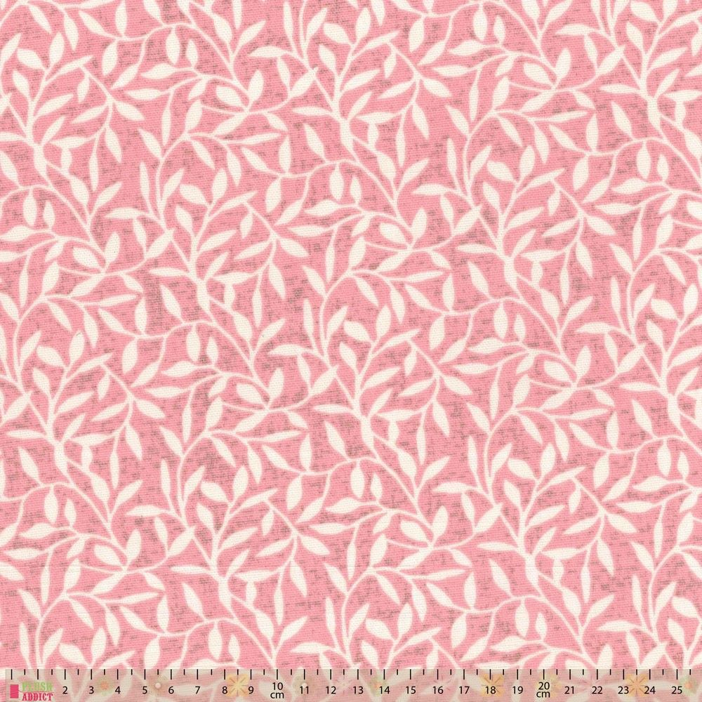 Upholstery / Curtain Fabric - Leaf Trail - Dusky Pink | Curtain ...