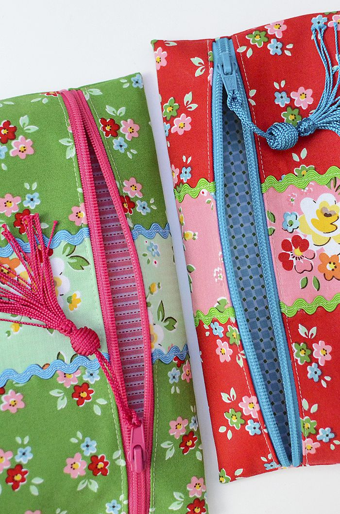 Simple Zip Pouch Tutorial Zip Pouch Tutorial Sewing Accessories Sewing Projects For Beginners