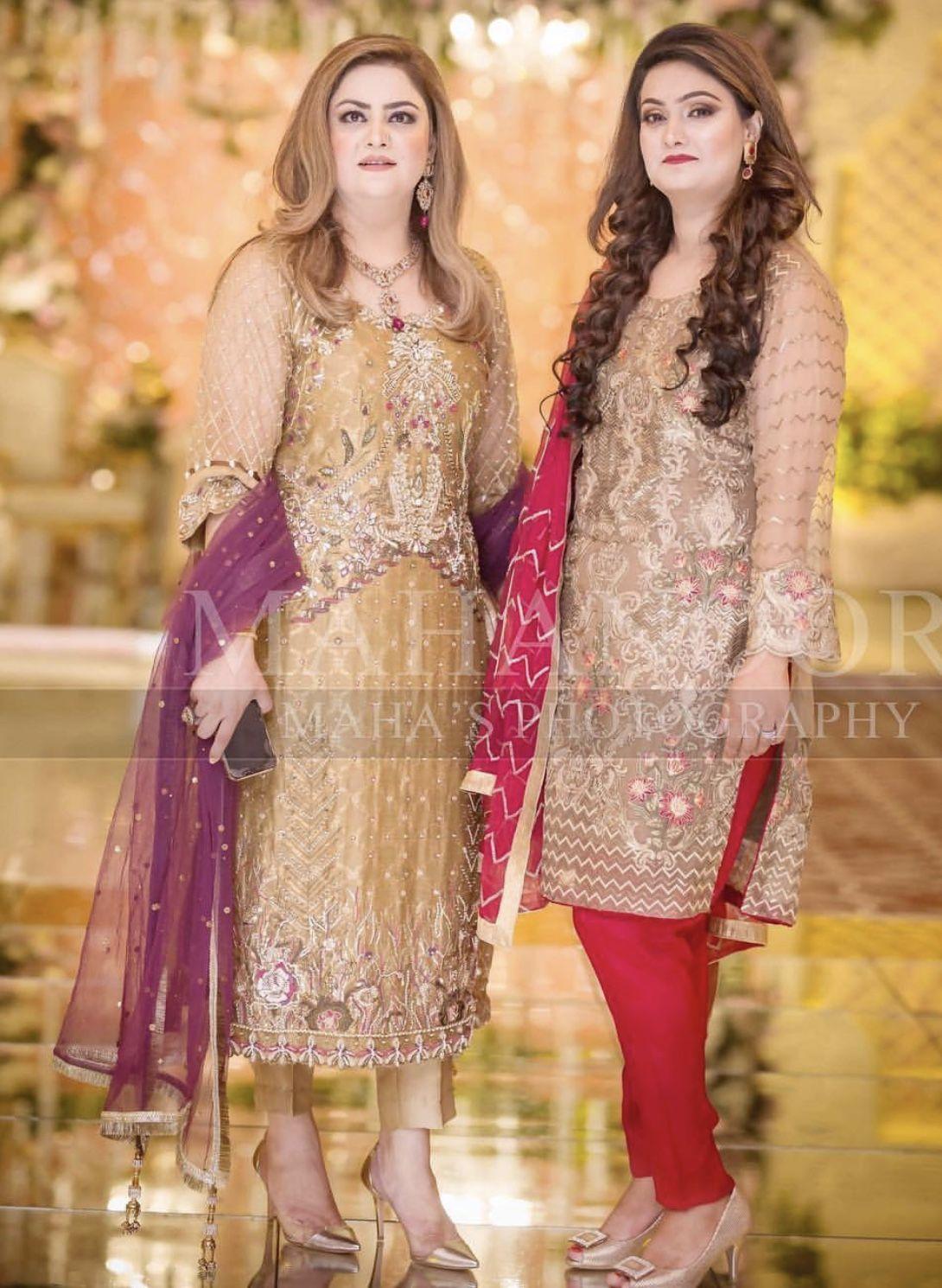 Brides Mom Left Pakistani Wedding Dresses Shadi Dresses