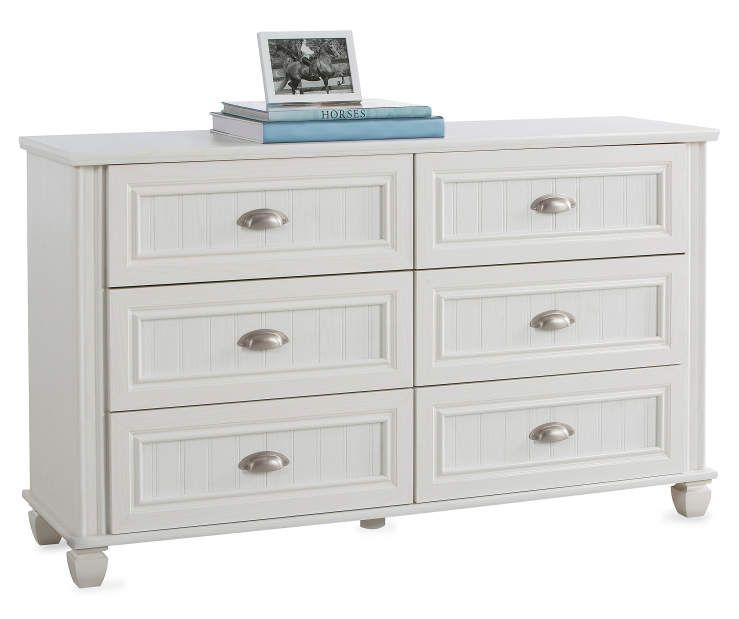 Federal White 6 Drawer Dresser Big Lots White Dresser Big