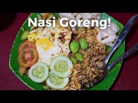 Nasi Goreng Indonesian Fried Rice Youtube Nasi Goreng Nasi Mangga