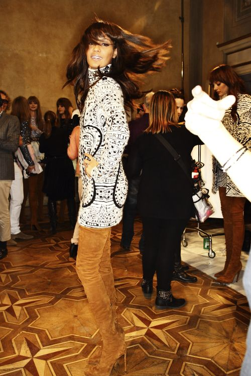 Emilio Pucci AW13 backstage