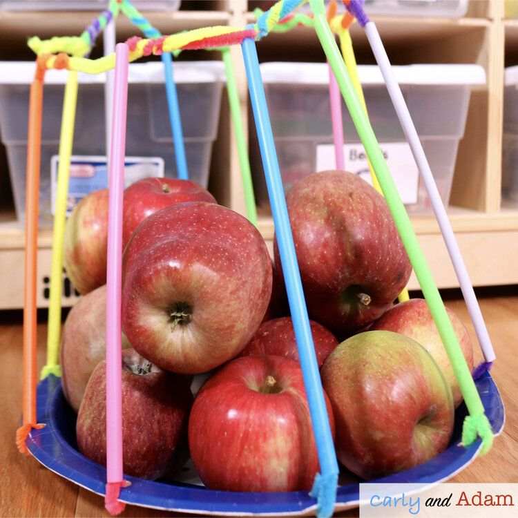 The Best Apple Stem Challenges And Science Experiments Stem Challenges Apple Stem How To Make Applesauce