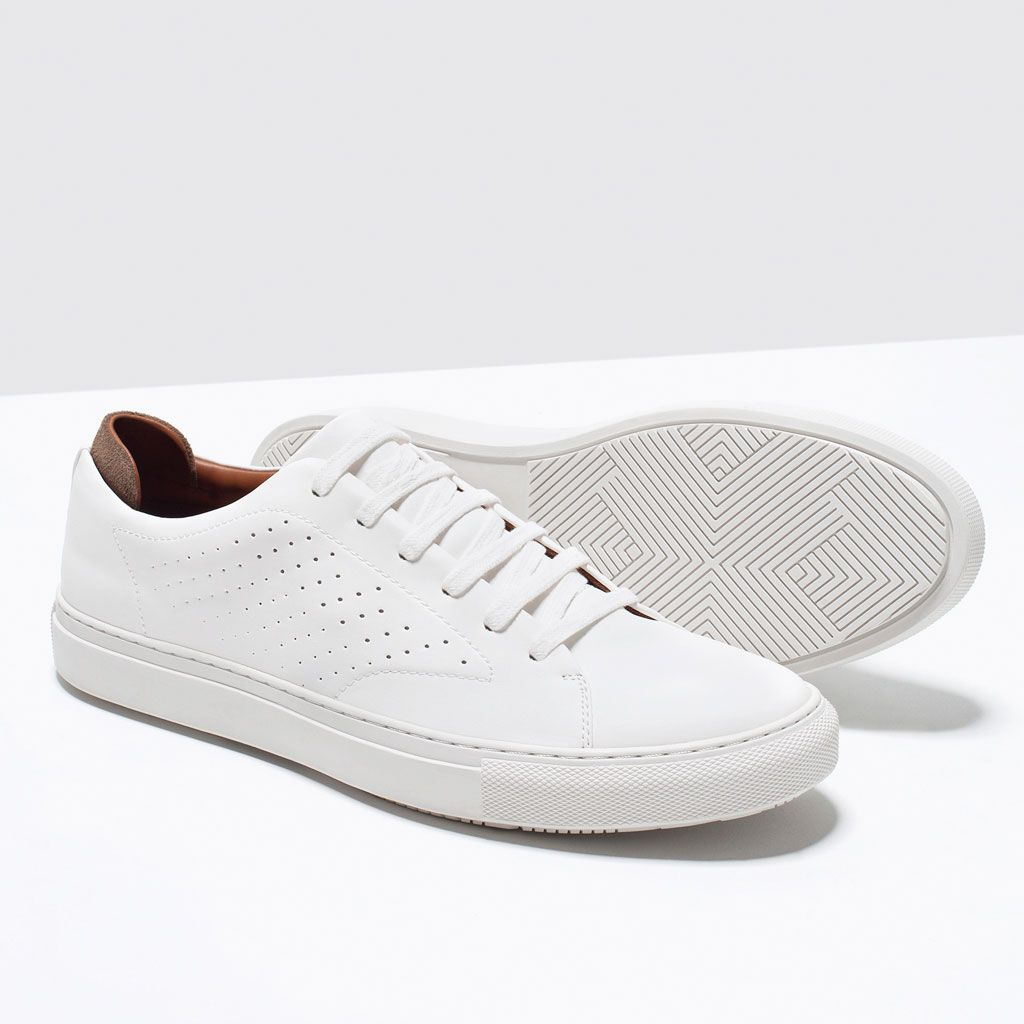 zara shoes bags white trainers sneakers