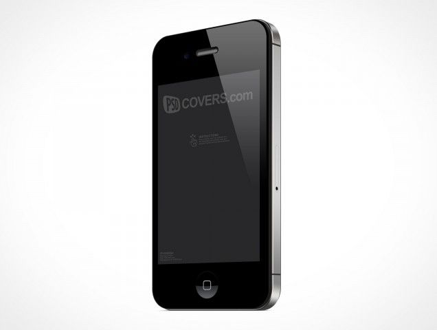 IPHONE004 is a front view shot of the iPhone 4 and 4S