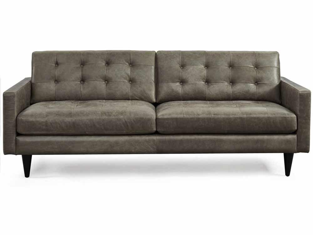 Bogart Sofa In Chelsea Slate 1