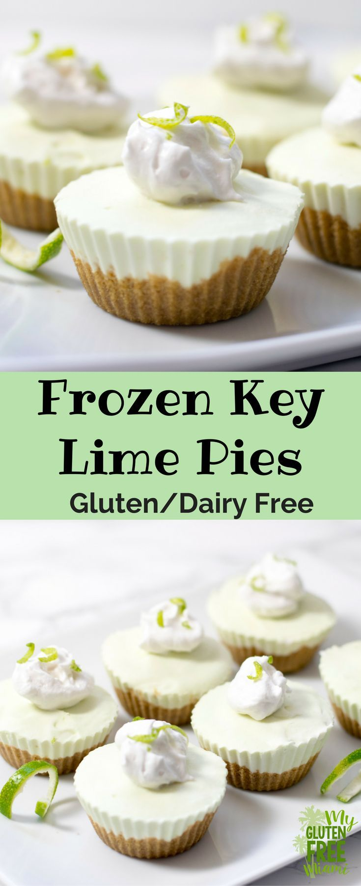 Frozen Key Lime Pie Summer Day Perfection (Gluten & Dairy