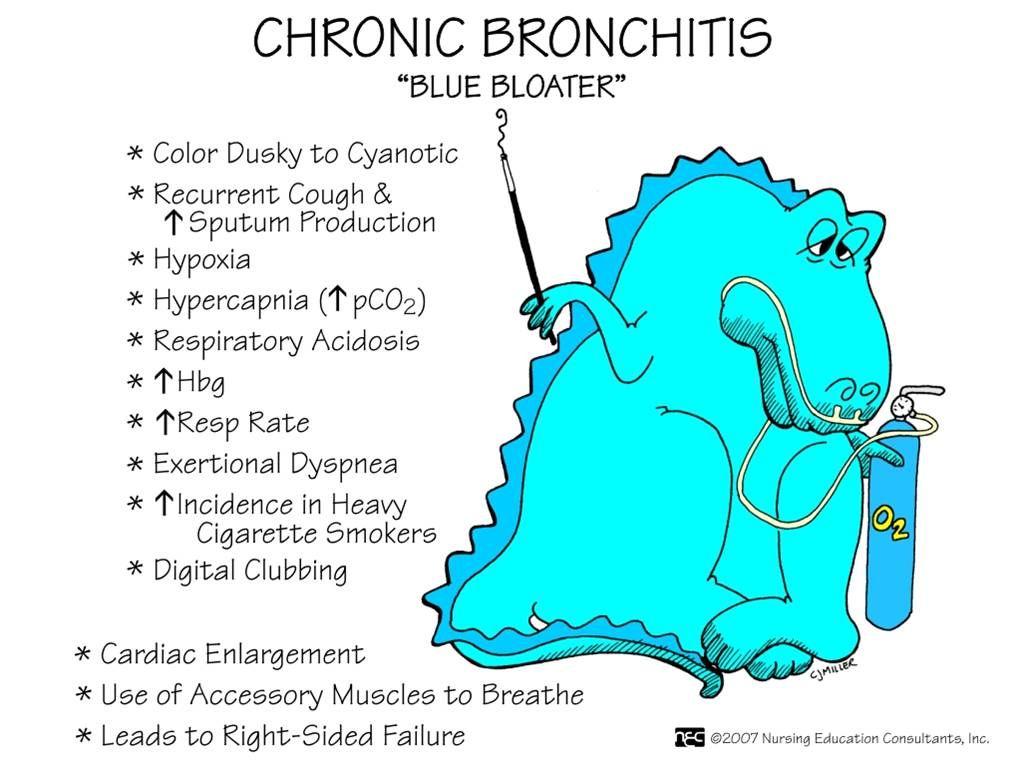 Blue Bloater - Chronic Bronchitis