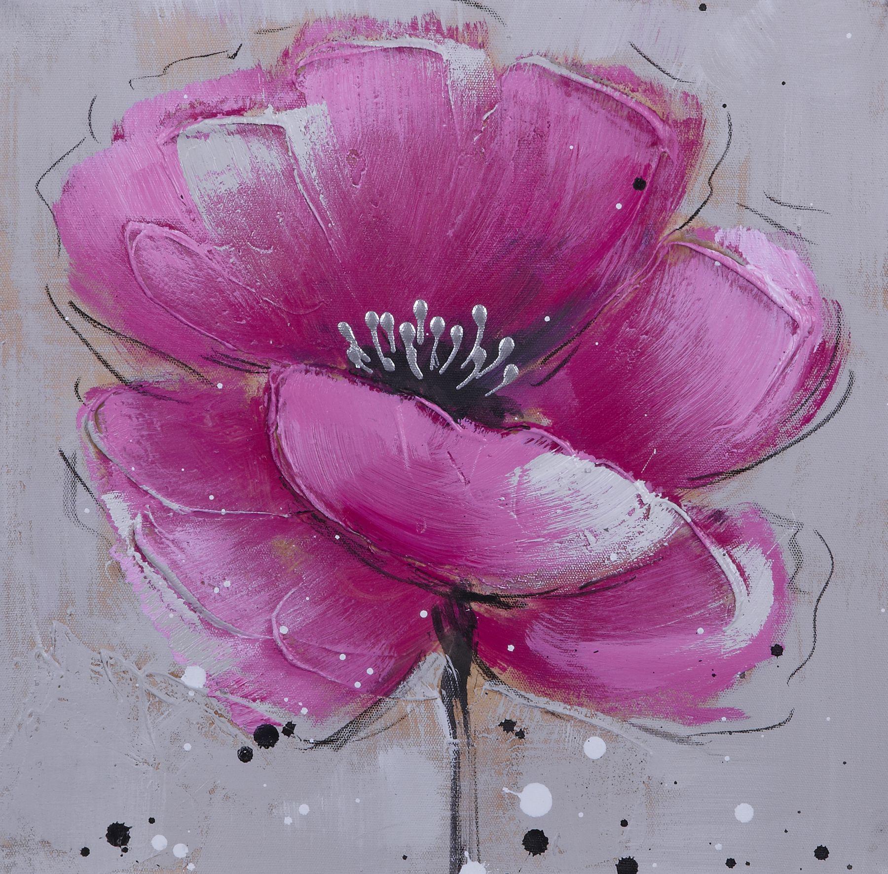 tableau peinture sur toile fleur velvet flowery 3 1 800 1 773 pixels. Black Bedroom Furniture Sets. Home Design Ideas