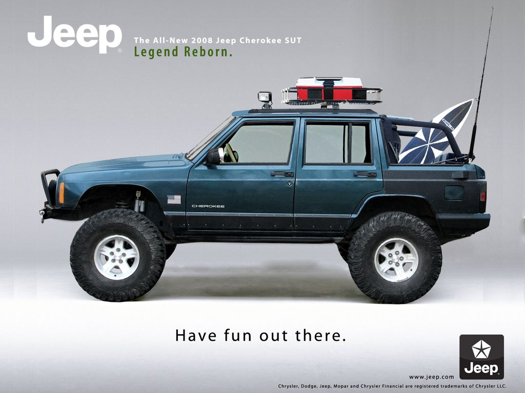 A jeep ad i spent some time on with my jeep for fun 2008 jeep cherokee sut beach