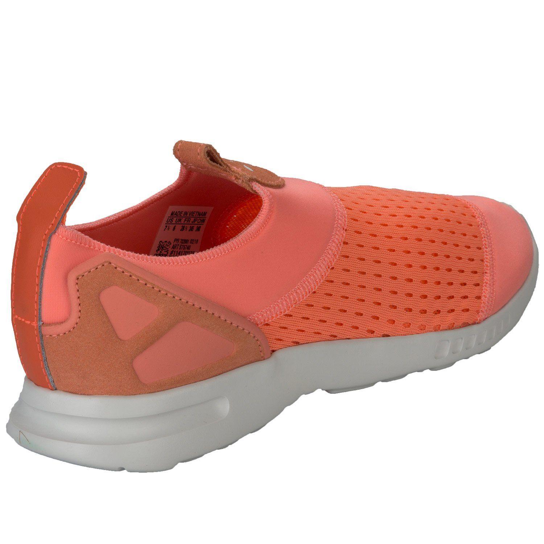 Adidas originali donne zx flusso avanzata regolare scivolare sui formatori