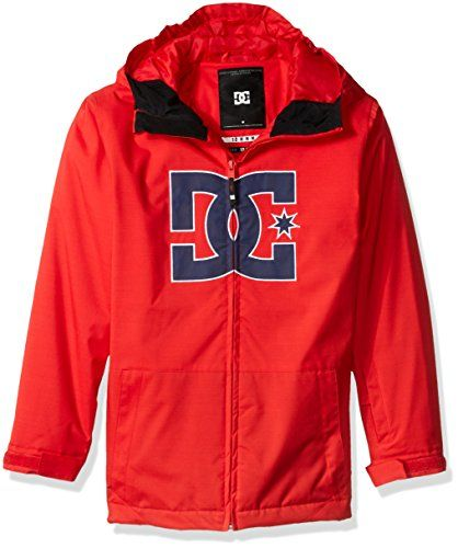 99ad9c999 DC Big Boys Story Youth Snow Jacket Racing Red 8S   Click image to ...